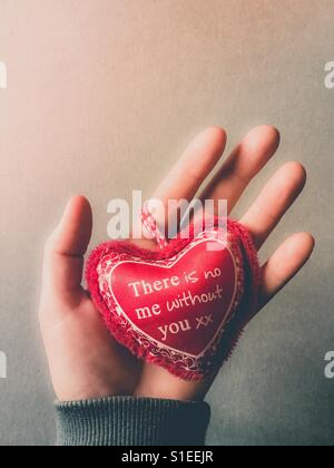 There is no me without you, Valentine's Day concept - Stock Photo