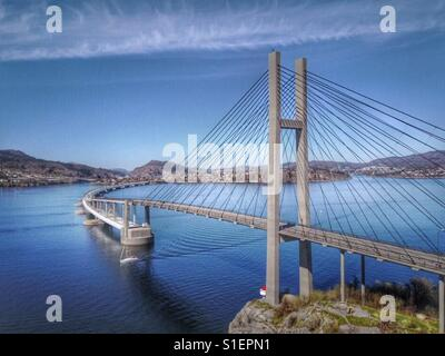 North hordaland bridge, Bergen, Norway. - Stock Photo