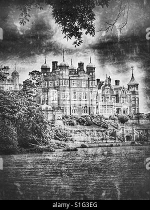 Bawdsey Manor - Stock Photo