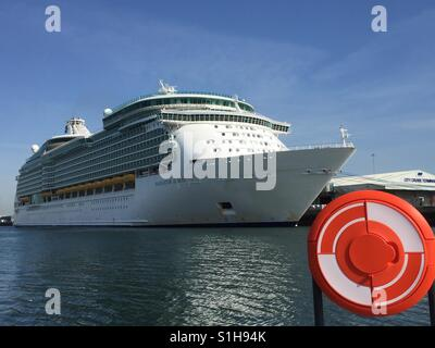 Navigator of the Seas cruise ship - Stock Photo