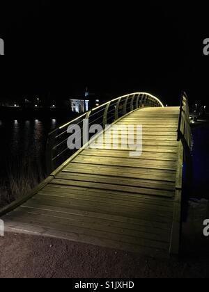 Walk in Pärnu, Estonia - Stock Photo