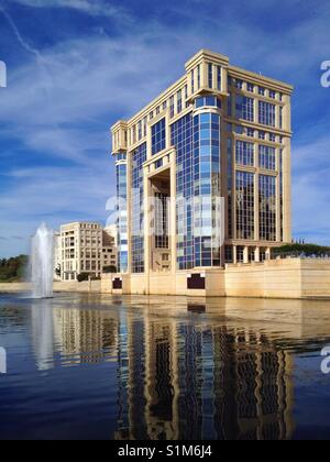 Area administration in Montpellier, France - Stock Photo