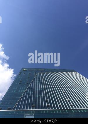 Blue sky tower. - Stock Photo
