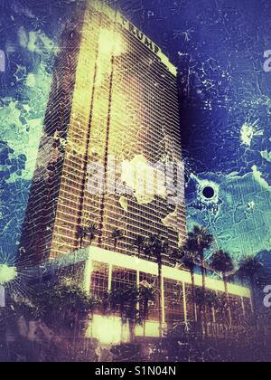 Trump Tower in Las Vegas - Stock Photo