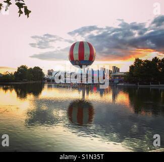 Disneyland ballon - Stock Photo