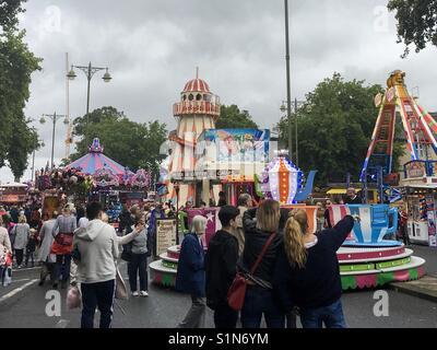 St Giles' Fair, Oxford - Stock Photo