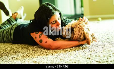Love for animals - Stock Photo
