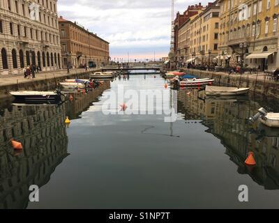 Trieste, Italy - Stock Photo