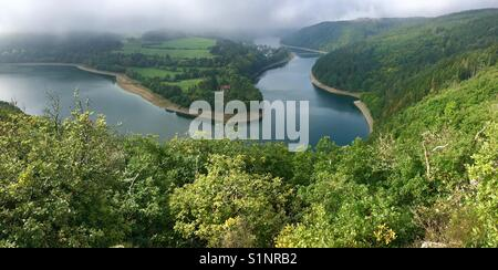 Lake Luxembourg Esch Sauer - Stock Photo