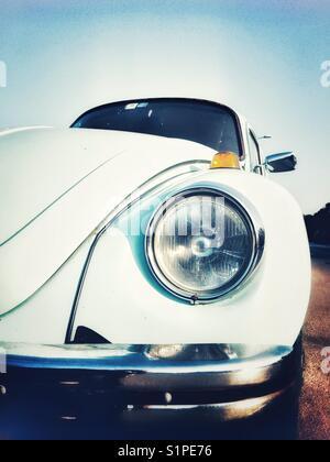 Volkswagen Beetle front fender view - Stock Photo