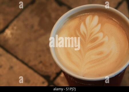 Coffee anyone. A beautiful time honored tradition - Stock Photo