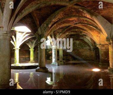 Portuguese Cistern, El Jadida, Morocco - Stock Photo