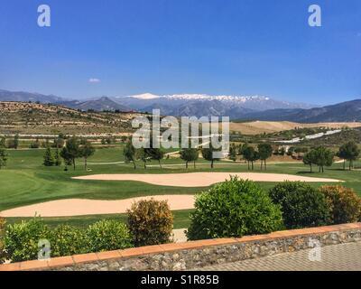 Santa Clara golf club, Andalucia, Spain - Stock Photo