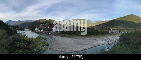 Punakha Dzong, Bhutan - Stock Photo