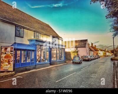 Peasenhall, Suffolk, England. - Stock Photo