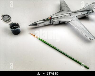 Cold War Mig - Stock Photo