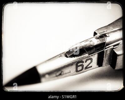 Model jet fighter - Stock Photo