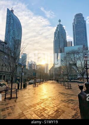 St. Lawrence Market neighbourhood in Toronto, Ontario. - Stock Photo