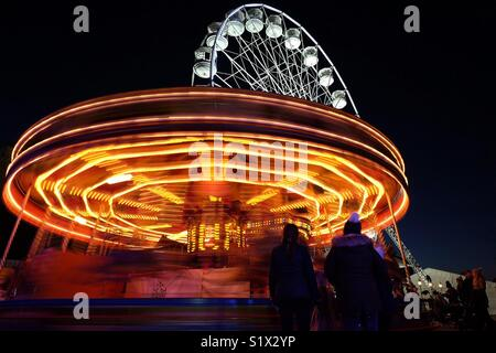 Fairground - Stock Photo