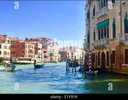 The Grand Canal Venice - Stock Photo