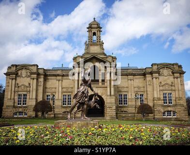 Cartwright Hall, Bradford. - Stock Photo