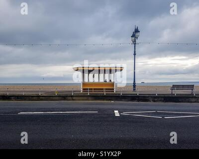 Seaside Shelter - Stock Photo