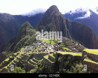 Machu Picchu, Peru - Stock Photo