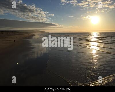 Portstewart strand - Stock Photo