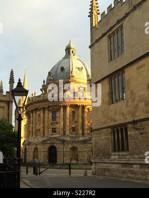 The Radcliffe Camera Oxford, part of the Bodleian Library - Stock Photo