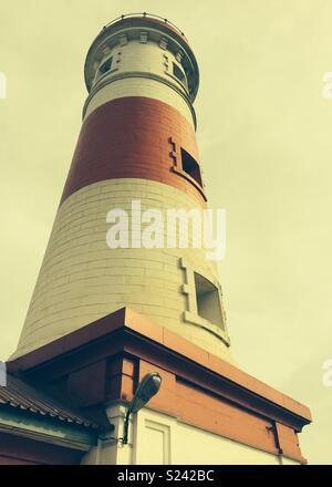 Jamestown Lighthouse, Accra, Ghana - Stock Photo