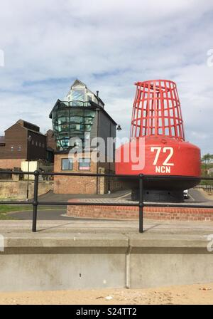 Blue light studios North Shields tynemouth - Stock Photo