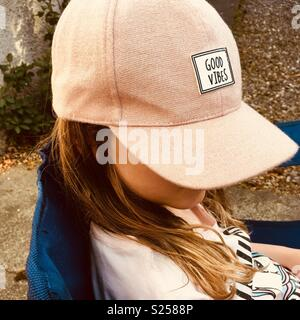 A cool little kid - Stock Photo