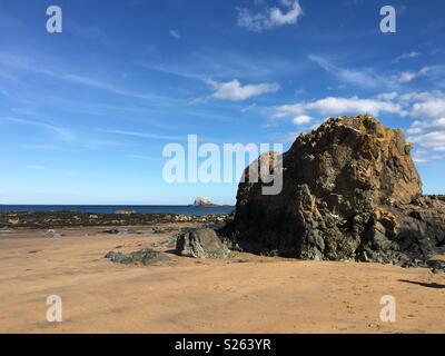 Bass Rock - Stock Photo