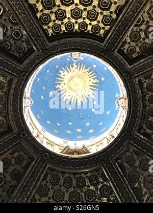 Inside a dome at Siena Cathedral, Italy. - Stock Photo