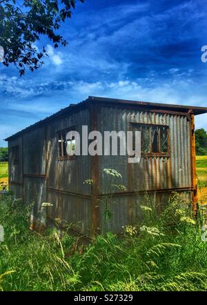 An old shed - Stock Photo