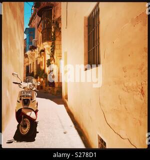 Backstreets of Rabat, Malta - Stock Photo