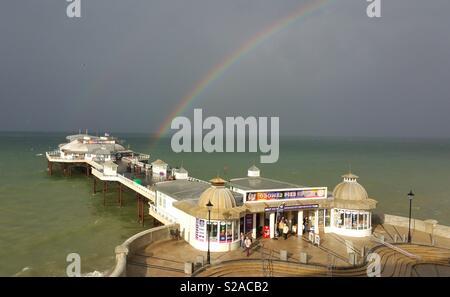 Cromer Pier, Norfolk UK. - Stock Photo