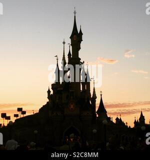 Disneyland Paris - Stock Photo