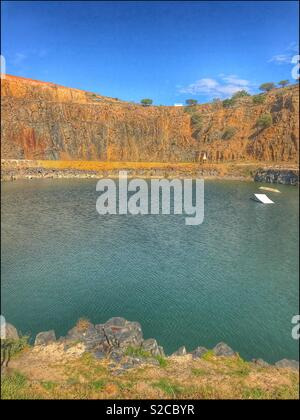 Hillcrest Quarry in Durbanville, Cape Town, South Africa.