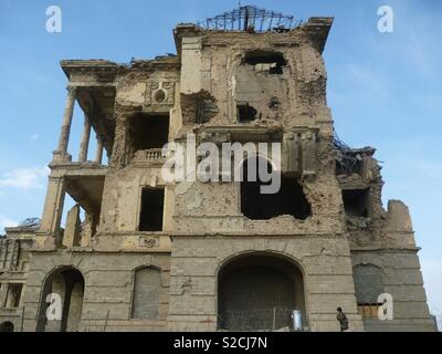 Queen's Palace, Kabul - Stock Photo