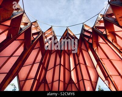 Pineapple Pavilion at Berrington Hall - Stock Photo