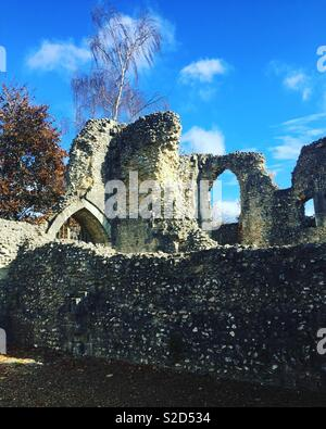 Wolvesey Castle, Winchester - Stock Photo