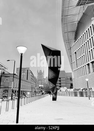 London, UK - 7th April 2019: The Francis Crick Institute. - Stock Photo