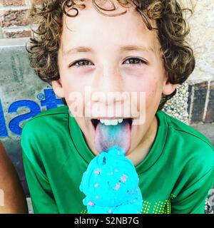 Hot summer day, cool treat! - Stock Photo