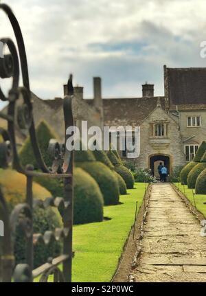 Lytes Cary Manor, Somerset - Stock Photo