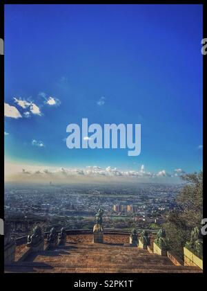 Rhodes Memorial, Cape Town, South Africa. - Stock Photo