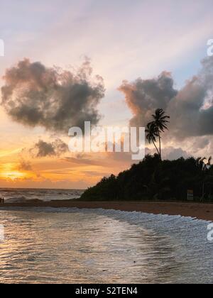 Sri Lanka Bentota beach - Stock Photo