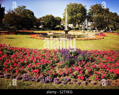 Prittlewell Square Southend - Stock Photo