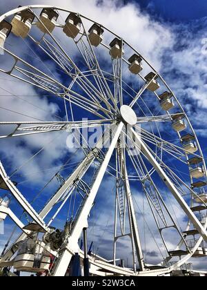 Big Wheel at Barry Island Pleasure Park, South Wales. - Stock Photo