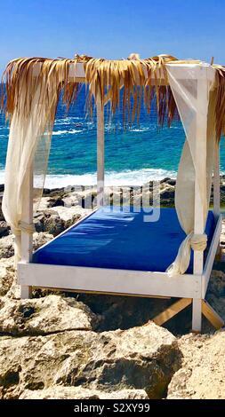Summer in Greece in a Greek island called Zakinthos- zante - Stock Photo